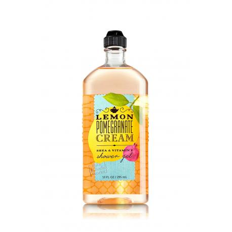 Gel douche LEMON POMEGRANATE CREAM Bath and Body Works shower gel US USA