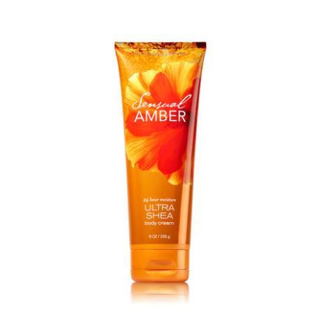 Crème pour le corps SENSUAL AMBER Bath and Body Works body cream US USA