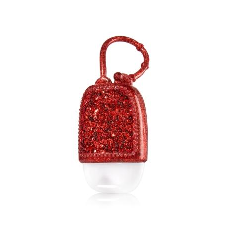 Pocketbac Holder RED GLITTER Bath and Body Works