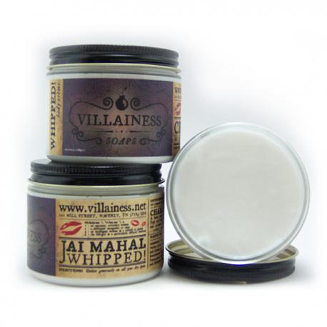 Crème Whipped! JAI MAHAL Villainess Soaps body cream US USA