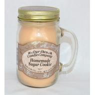 Bougie Mason Jar HOMEMADE SUGAR COOKIE Our Own Candle Company