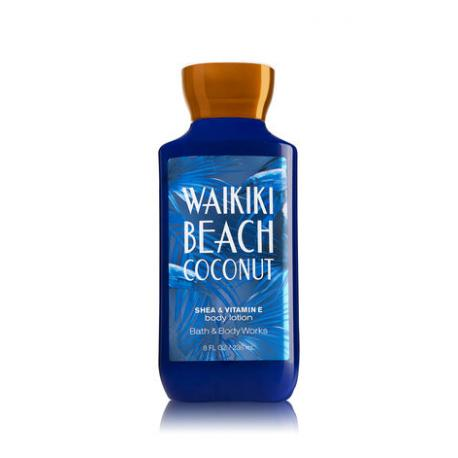 Lait pour le corps WAIKIKI BEACH COCONUT Bath and Body Works body lotion US USA