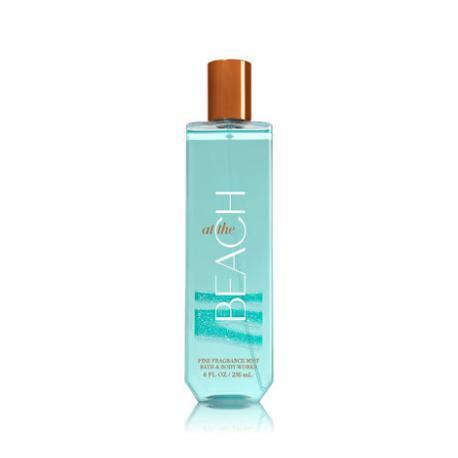 Brume parfumée AT THE BEACH Bath and Body Works fragrance body mist US USA
