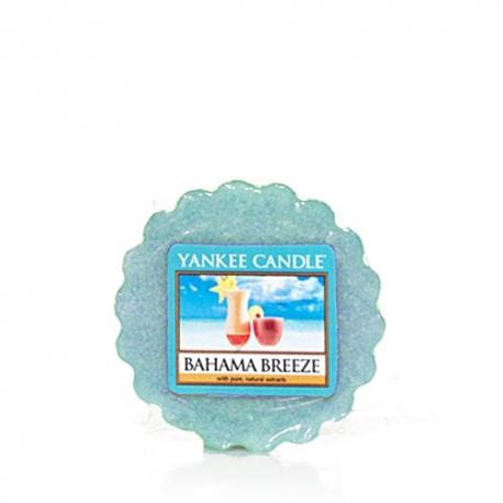 Tartelette BAHAMA BREEZE Yankee Candle wax tart excu US USA