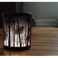 Scenterpiece US TWILIGHT SILHOUETTES avec LED et Timer Yankee Candle