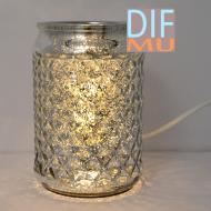 Brûleur de cire parfumée électrique MERCURY ARGENT wax warmer