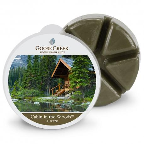 Cire parfumée CABIN IN THE WOODS Goose Creek Candle