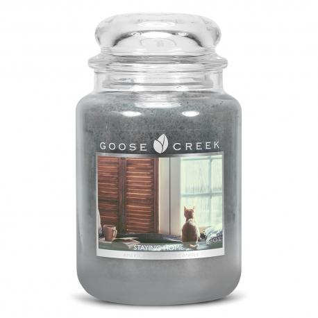 Bougie parfumée Grande Jarre 2 mèches STAYING HOME Goose Creek Candle US USA