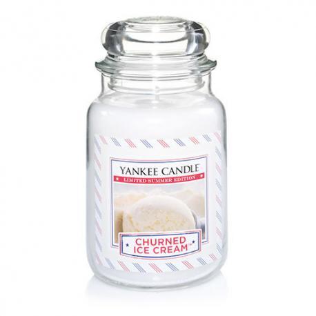 Bougie parfumée Grande Jarre CHURNED ICE CREAM Yankee Candle exclu US USA