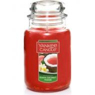 Bougie parfumée Grande Jarre GUAVA COCONUT FUSION Yankee Candle exclu US USA