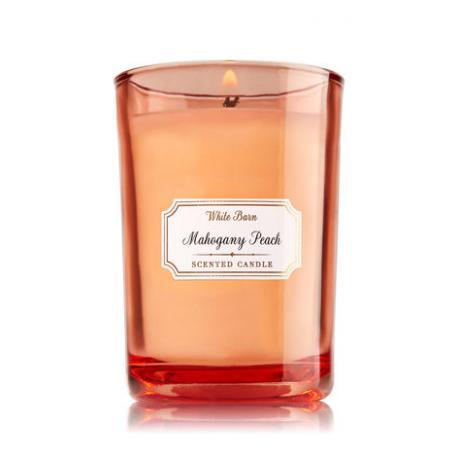Bougie parfumée moyenne MAHOGANY PEACH Bath and Body Works candle US USA