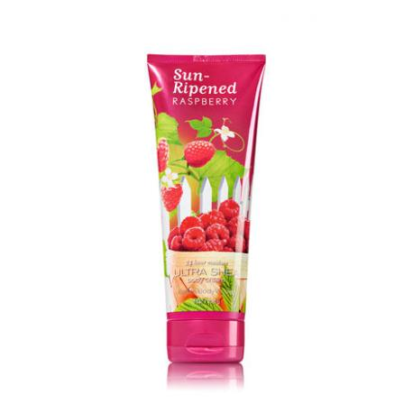 Crème parfumée pour le corps SUN-RIPENED RASPBERRY Bath and Body Works body cream US USA