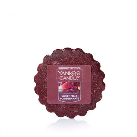 Tartelette SWEET FIG & POMEGRANATE Yankee Candle wax tart US USA