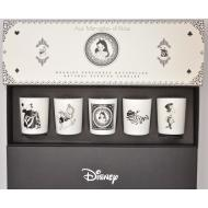 Coffret 5 mini Bougies AUX MERVEILLES D'ALICE Disney Alice Wonderland Difmu