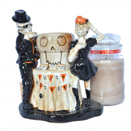 Votive holder BONEY BUNCH PUNCH ROCKERS Yankee Candle Halloween US USA