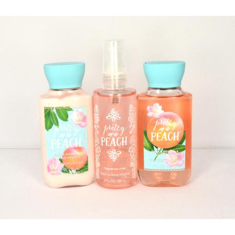Trio Voyage PRETTY AS PEACH Bath and Body Works