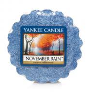 Tartelette NOVEMBER RAIN Yankee Candle wax tart exclu US USA