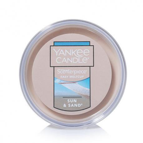Easy Meltcup SUN AND SAND Yankee Candle exclu US USA