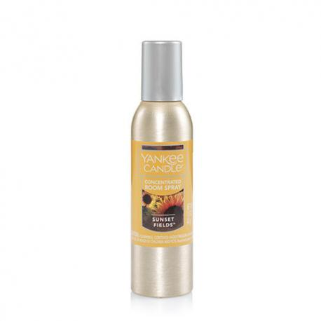 Parfum d'ambiance SUNSET FIELDS Yankee Candle room spray US USA