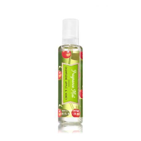 Mini Brume parfumée CHAMPAGNE APPLE HONEY Bath and Body Works travel mist US USA