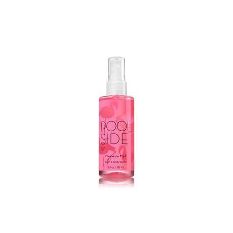 Mini Brume parfumée POOLSIDE POP Bath and Body Works travel mist US USA