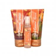 Trio Voyage SALTED CARAMEL APRICOT Bath and Body Works