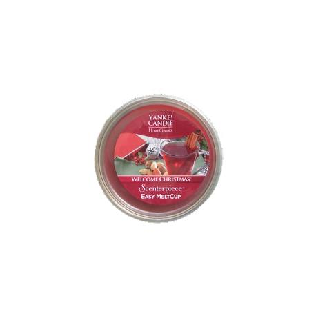Meltcup WELCOME CHRISTMAS Yankee Candle