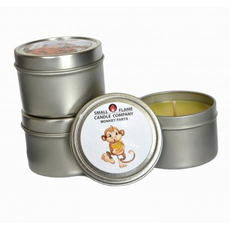 Bougie MONKEY FARTS Small Flame Candle