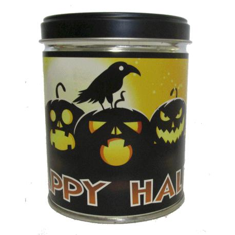 Bougie parfumée Tin Candle CANDY CORN - HAPPY HALLOWEEN Our Own Candle Company Halloween US USA