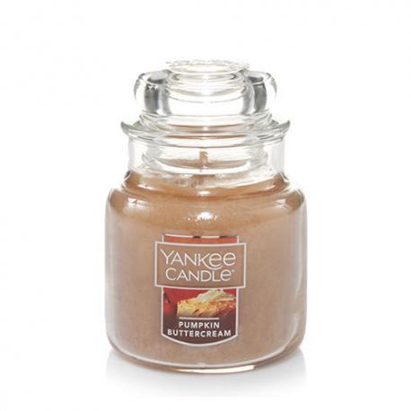 Bougie parfumée Petite Jarre PUMPKIN BUTTERCREAM Yankee Candle exclu US USA