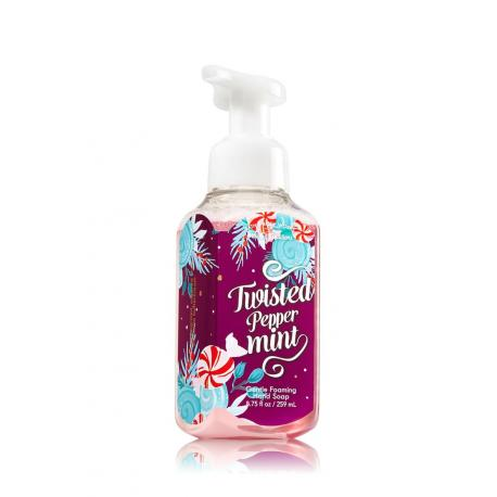 Savon mousse TWISTED PEPPERMINT Bath and Body Works Hand Soap