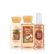 Trio Voyage GINGERBREAD LATTE Bath and Body Works