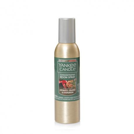 Parfum d'ambiance AROMATIC ORANGE & EVERGREEN Yankee Candle room spray US USA