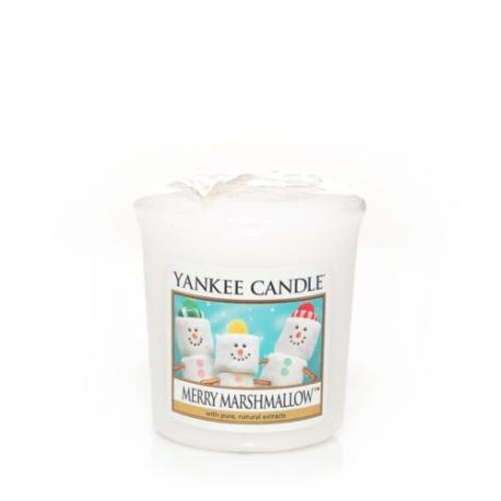 Bougie parfumée Votive MERRY MARSHMALLOW Yankee Candle exclu US USA