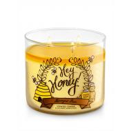 Bougie parfumée 3 mèches HONEYED PEAR Bath and Body Works candle US USA