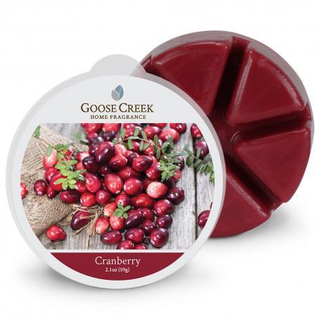 Cire parfumée CRANBERRY Goose Creek Candle wax melt US USA