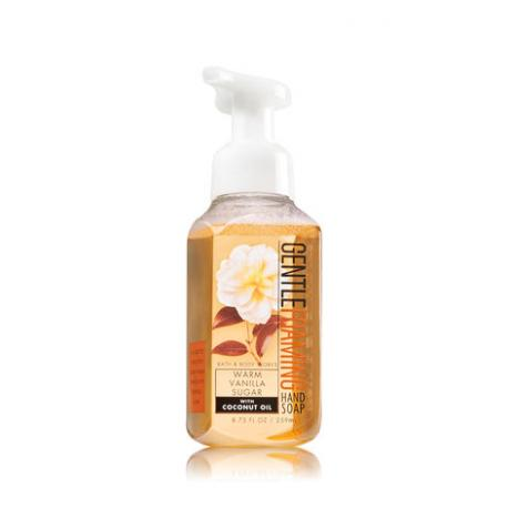 Savon parfumé moussant WARM VANILLA SUGAR Bath and Body Works Hand Soap US USA