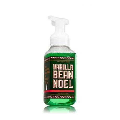 Savon mousse VANILLA BEAN NOEL Bath and Body Works Hand Soap US USA 2017