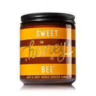 Bougie parfumée moyenne SWEET HONEY BEE Bath and Body Works candle US USA