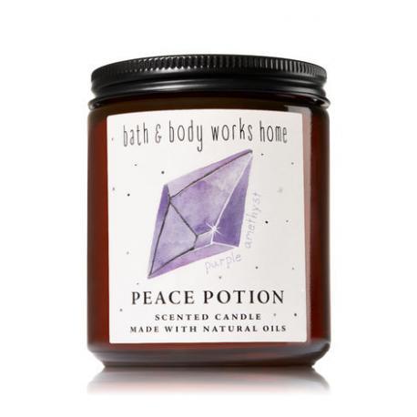 Bougie parfumée moyenne PEACE POTION - DARK AMETHYST & MUSK Bath and Body Works candle US USA
