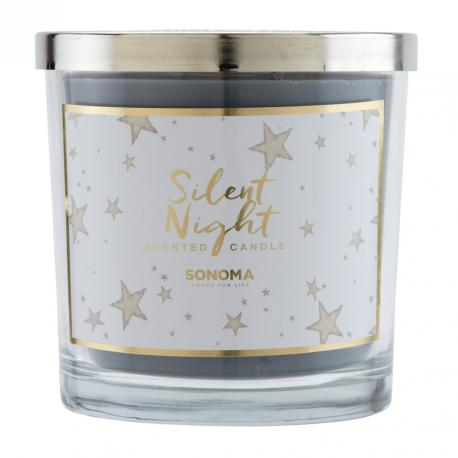 Bougie parfumée 3 mèches SILENT NIGHT Sonoma candle US USA