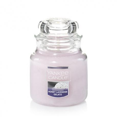 Bougie parfumée Petite Jarre HONEY LAVENDER GELATO Yankee Candle exclu US USA