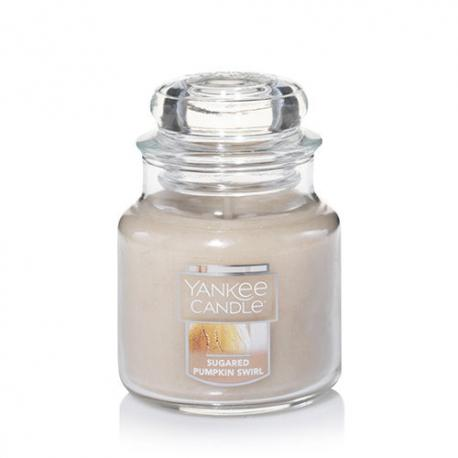 Bougie parfumée Petite Jarre SUGARED PUMPKIN SWIRL Yankee Candle exclu US USA