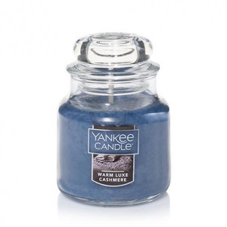 Bougie parfumée Petite Jarre WARM LUXE CASHMERE Yankee Candle exclu US USA