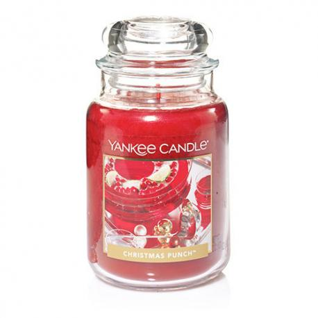 Bougie parfumée Grande Jarre CHRISTMAS PUNCH Yankee Candle exclu US USA