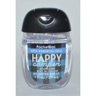 Gel antibactérien HAPPY CAMPER Bath and Body Works pocketbac US USA