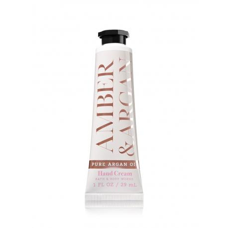 Crème pour les mains AMBER & ARGAN Bath and Body Works hand cream US USA