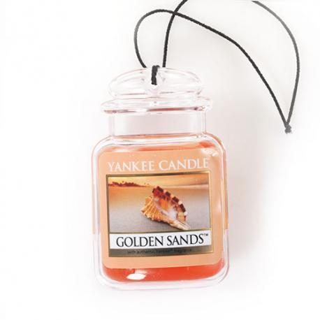 Car Jar Ultimate  GOLDEN SANDS Yankee Candle