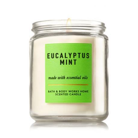 Bougie moyenne EUCALYPTUS MINT Bath and Body Works