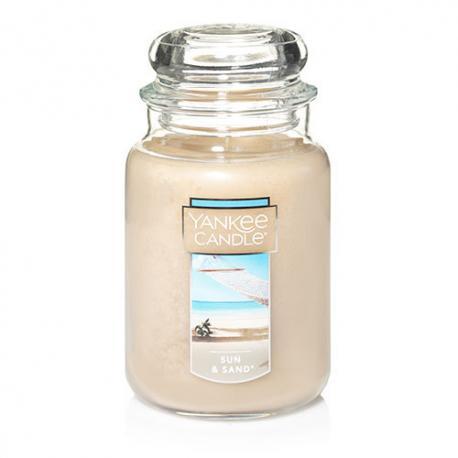 Bougie parfumée Grande Jarre SUN & SAND Yankee Candle exclu US USA
